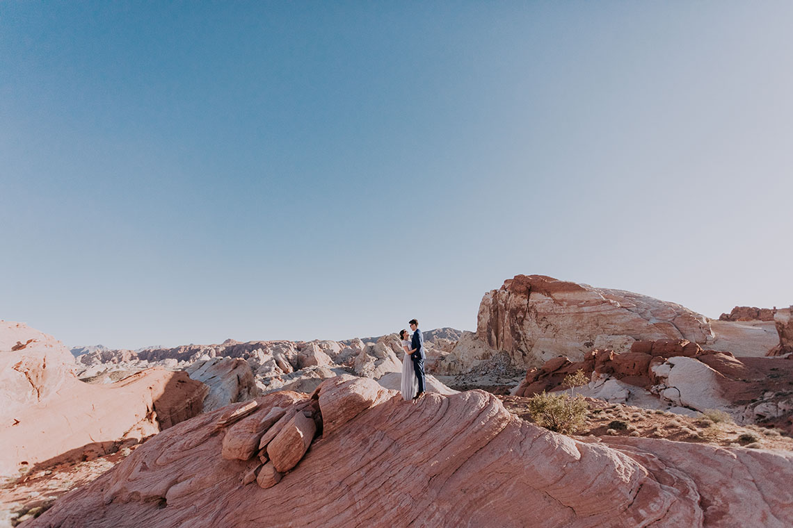 Urban Meets Desert Nevada Elopement – Elope Tahoe Photo Co. 23