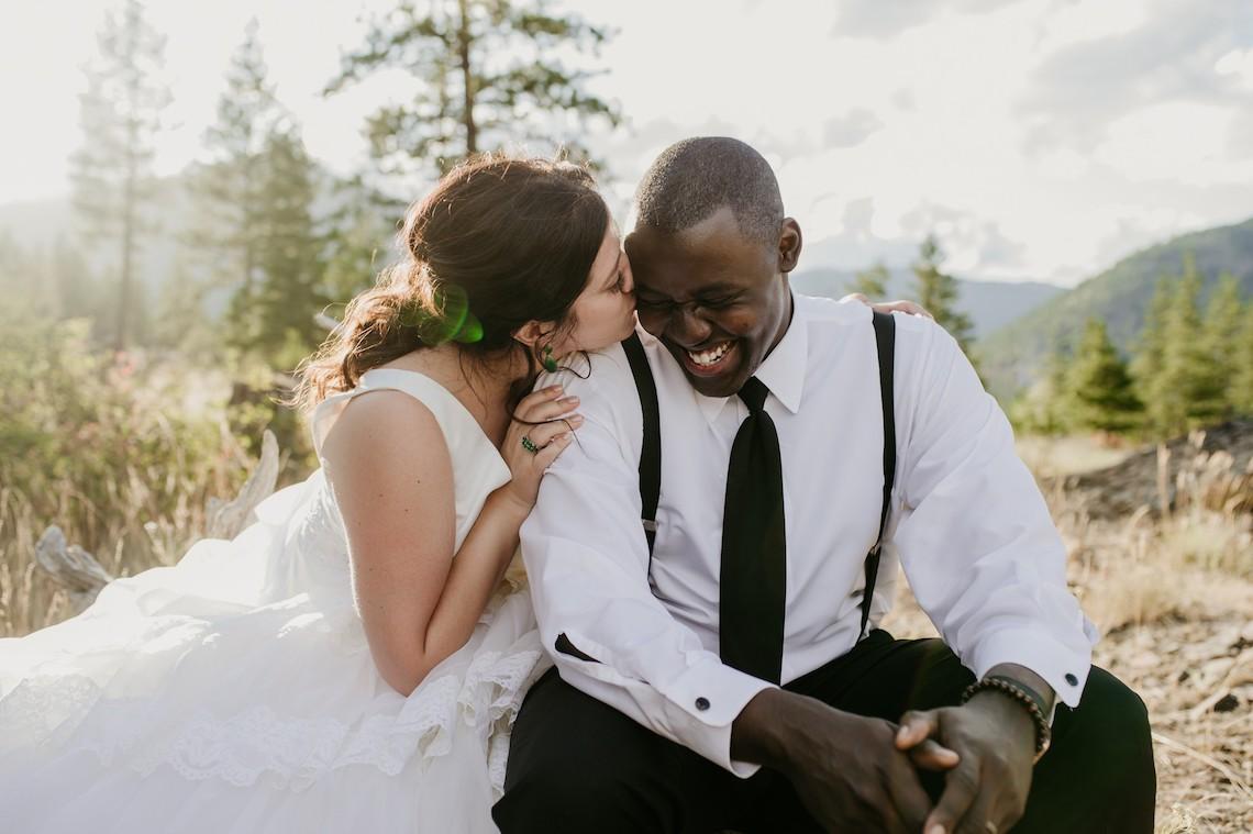 Whimsical Forest Lodge Congolese American Wedding – Honeybee Weddings 1