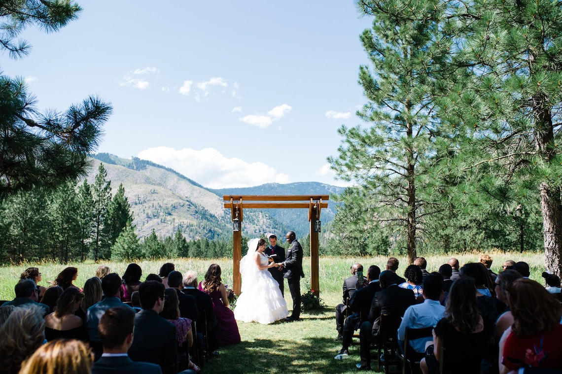 Whimsical Forest Lodge Congolese American Wedding – Honeybee Weddings 26