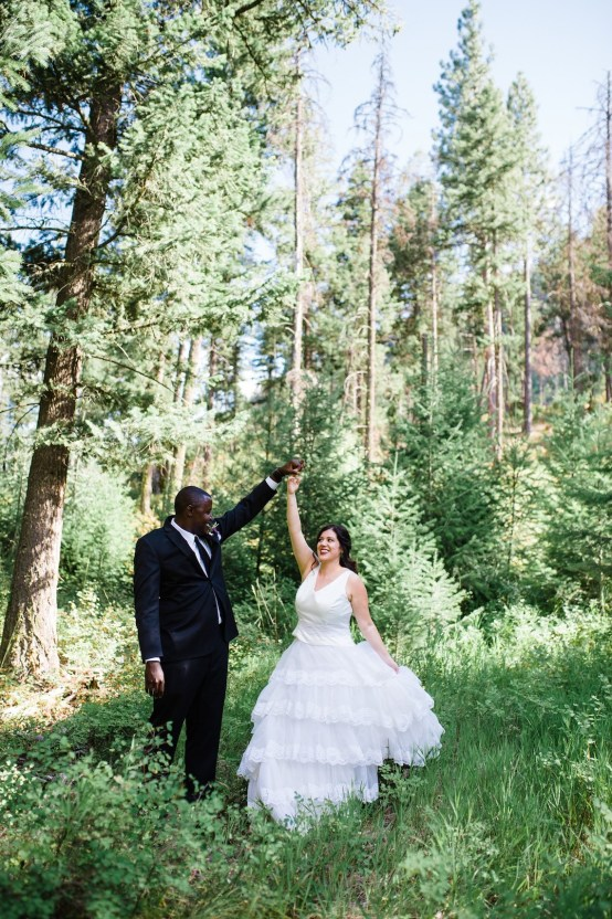 Whimsical Forest Lodge Congolese American Wedding – Honeybee Weddings 37