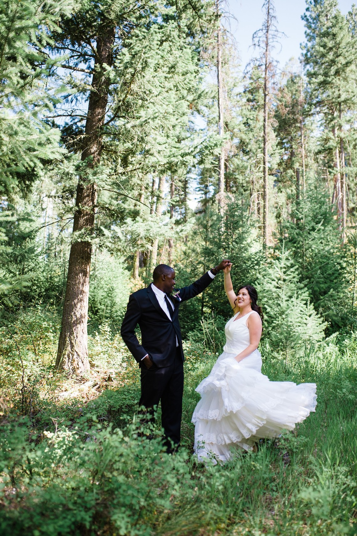 Whimsical Forest Lodge Congolese American Wedding – Honeybee Weddings 39