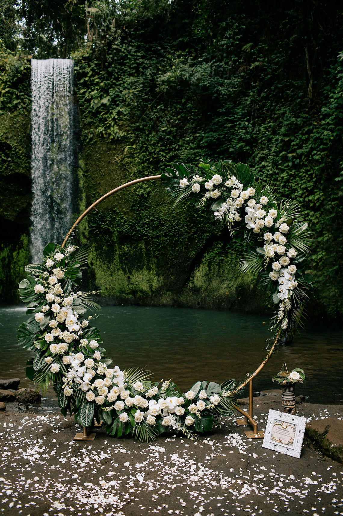 Breathtaking Bali Waterfall Elopement – Vladimir Borodenok 12