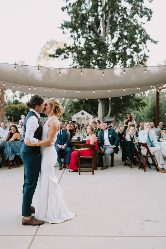 Eclectic San Diego Garden Wedding – Barrels and Branches – Lets Frolic Together 38