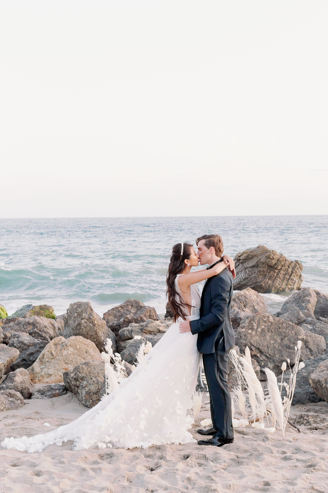 Ethereal Malibu Beach Wedding Inspiration – Courage and Dash Photo 13