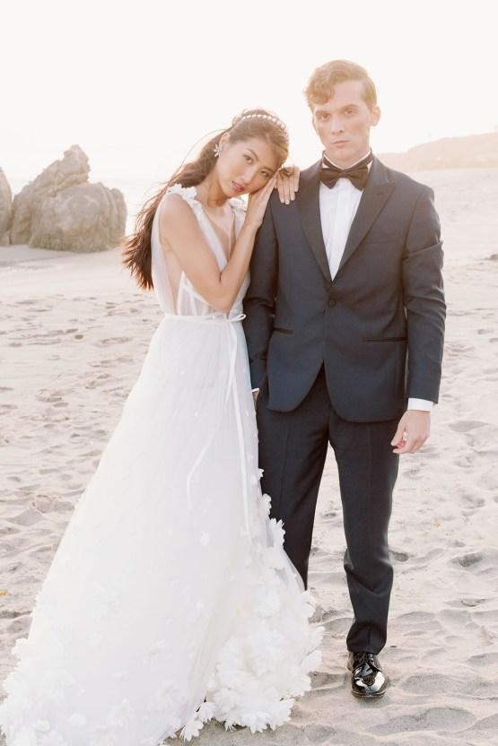 Ethereal Malibu Beach Wedding Inspiration – Courage and Dash Photo 14