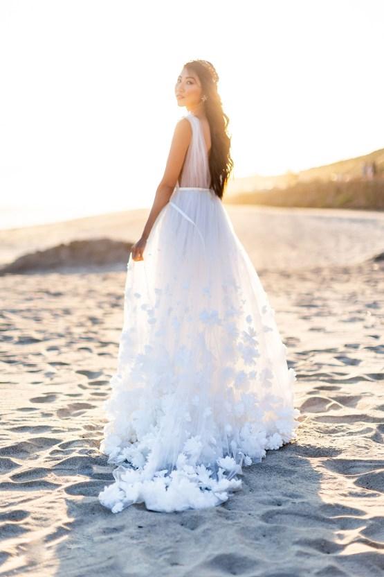Ethereal Malibu Beach Wedding Inspiration – Courage and Dash Photo 2