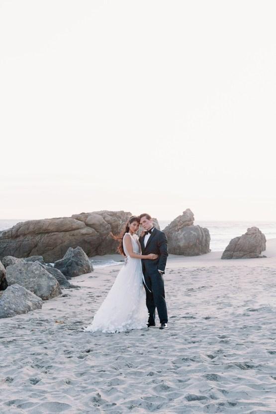 Ethereal Malibu Beach Wedding Inspiration – Courage and Dash Photo 21