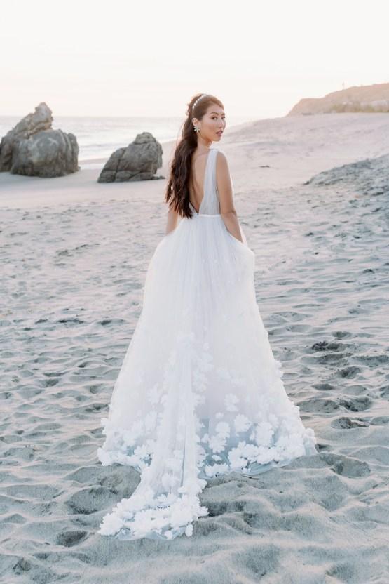 Ethereal Malibu Beach Wedding Inspiration – Courage and Dash Photo 24