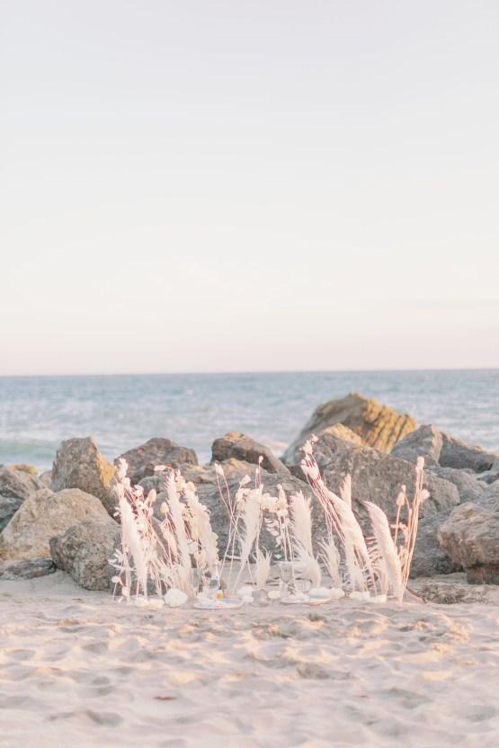 Ethereal Malibu Beach Wedding Inspiration – Courage and Dash Photo 7