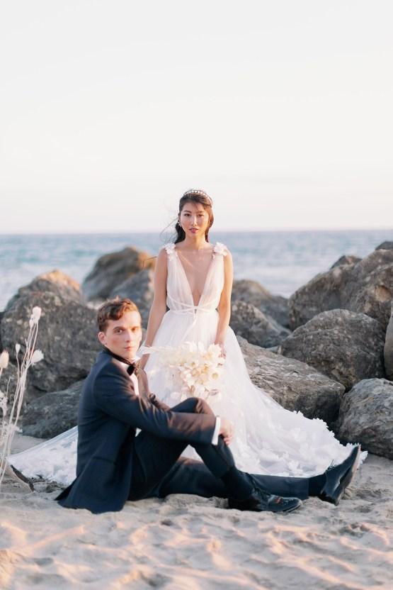 Ethereal Malibu Beach Wedding Inspiration – Courage and Dash Photo 8