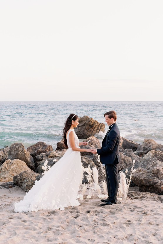 Ethereal Malibu Beach Wedding Inspiration – Courage and Dash Photo 9