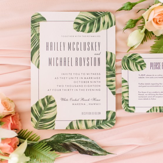 Maui Wedding – Bridal Musings – Zazzle Wedding Invitations – Marlayna Photography