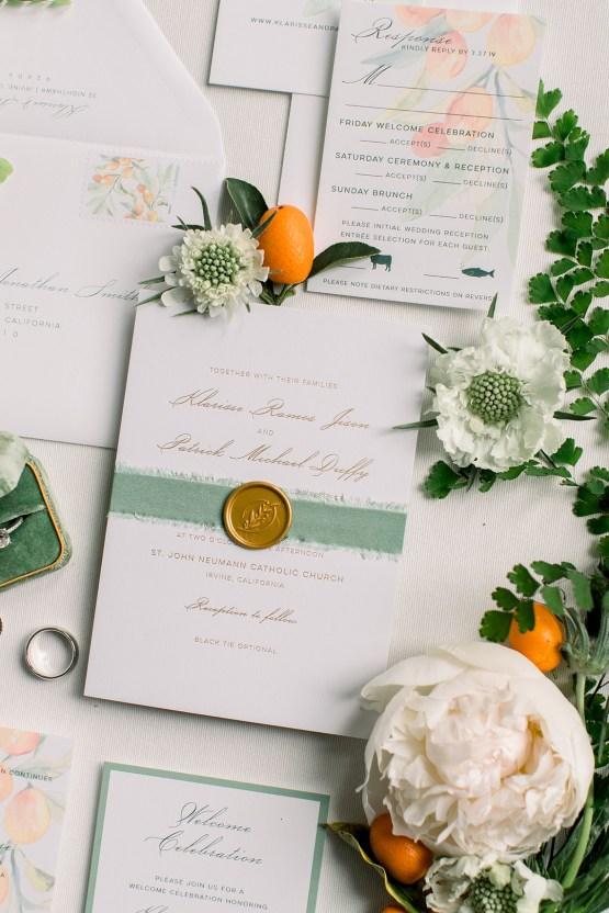 Orange Citrus Inspired Wedding at Lido House Newport Beach – Brett Hickman 6