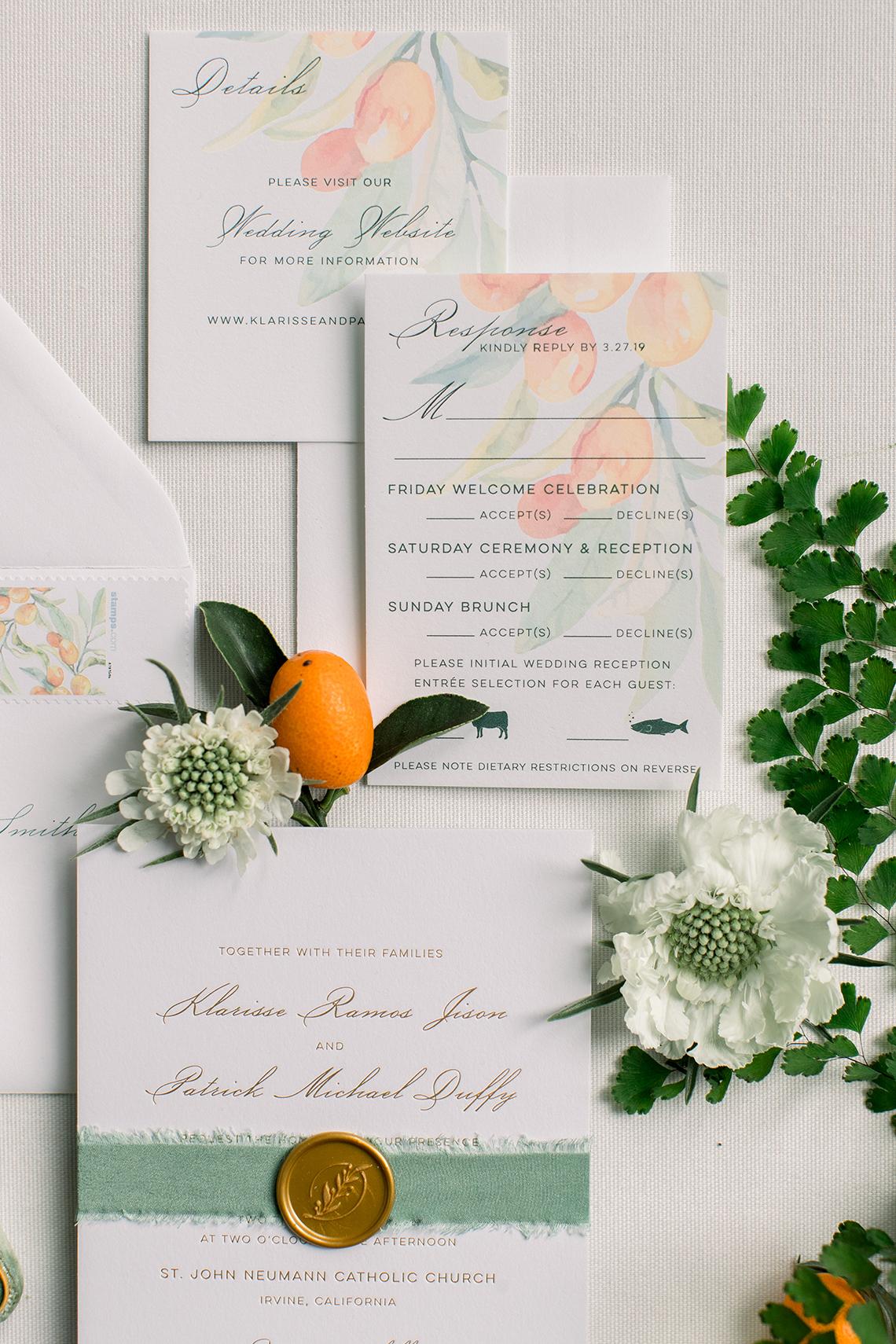 Orange Citrus Inspired Wedding at Lido House Newport Beach – Brett Hickman 8