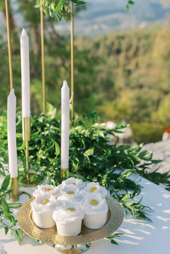 Villa Galini White and Gold Greek Wedding – Soo Events 29