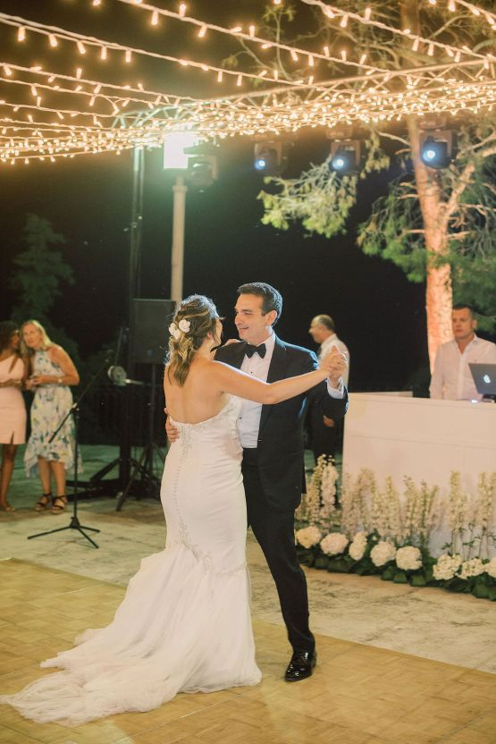 Villa Galini White and Gold Greek Wedding – Soo Events 49