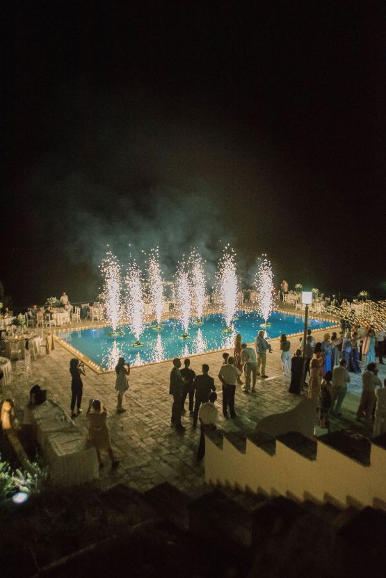 Villa Galini White and Gold Greek Wedding – Soo Events 50