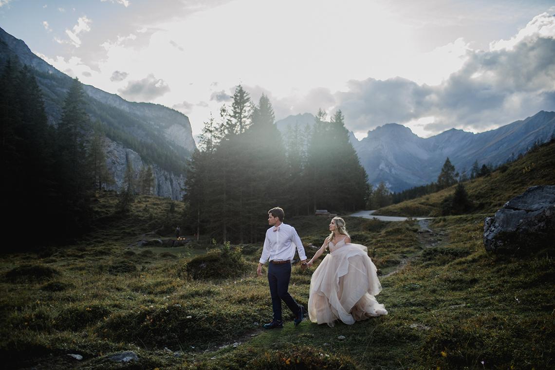 Amazing Adventurous Swiss Alps Mountain Wedding – Unveiled Radiance Photography 12