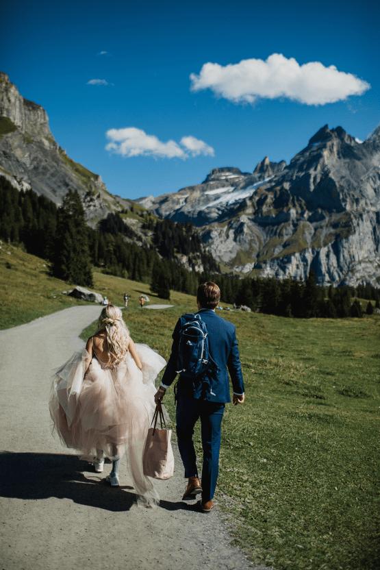 Amazing Adventurous Swiss Alps Mountain Wedding – Unveiled Radiance Photography 33
