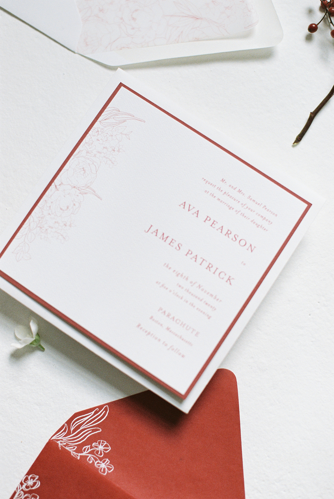 Bold Red Wedding Inspiration – Shannon O Neil Photography 10