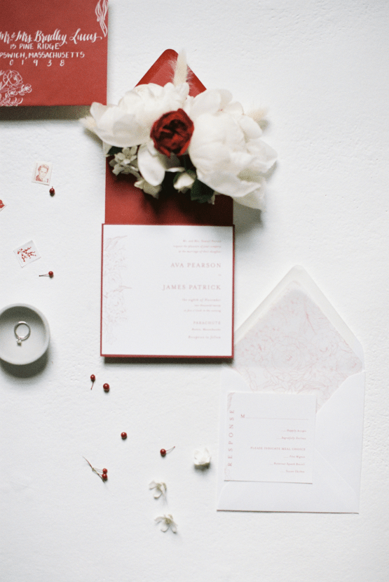 Bold Red Wedding Inspiration – Shannon O Neil Photography 11