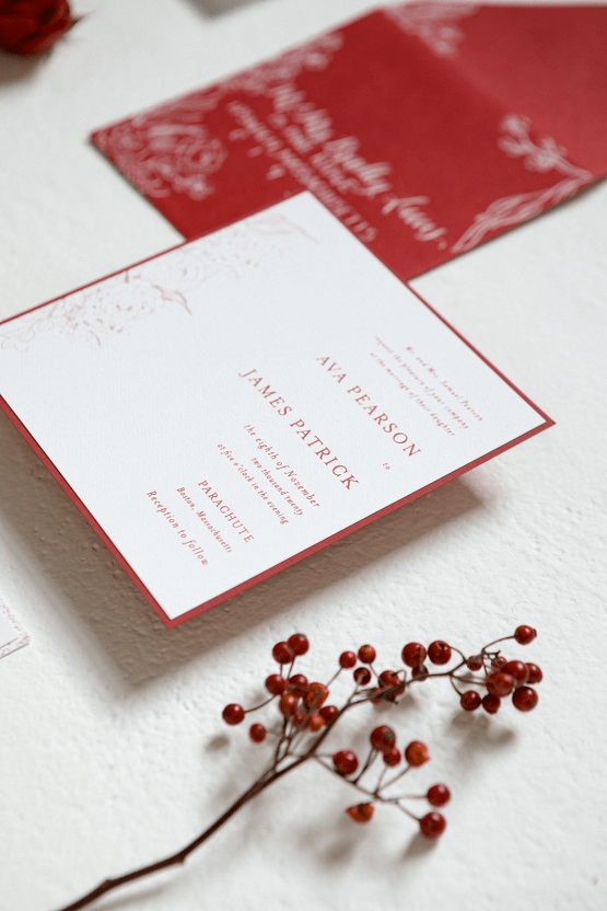 Bold Red Wedding Inspiration – Shannon O Neil Photography 15