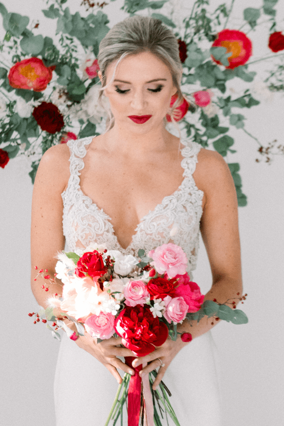 Bold Red Wedding Inspiration – Shannon O Neil Photography 33
