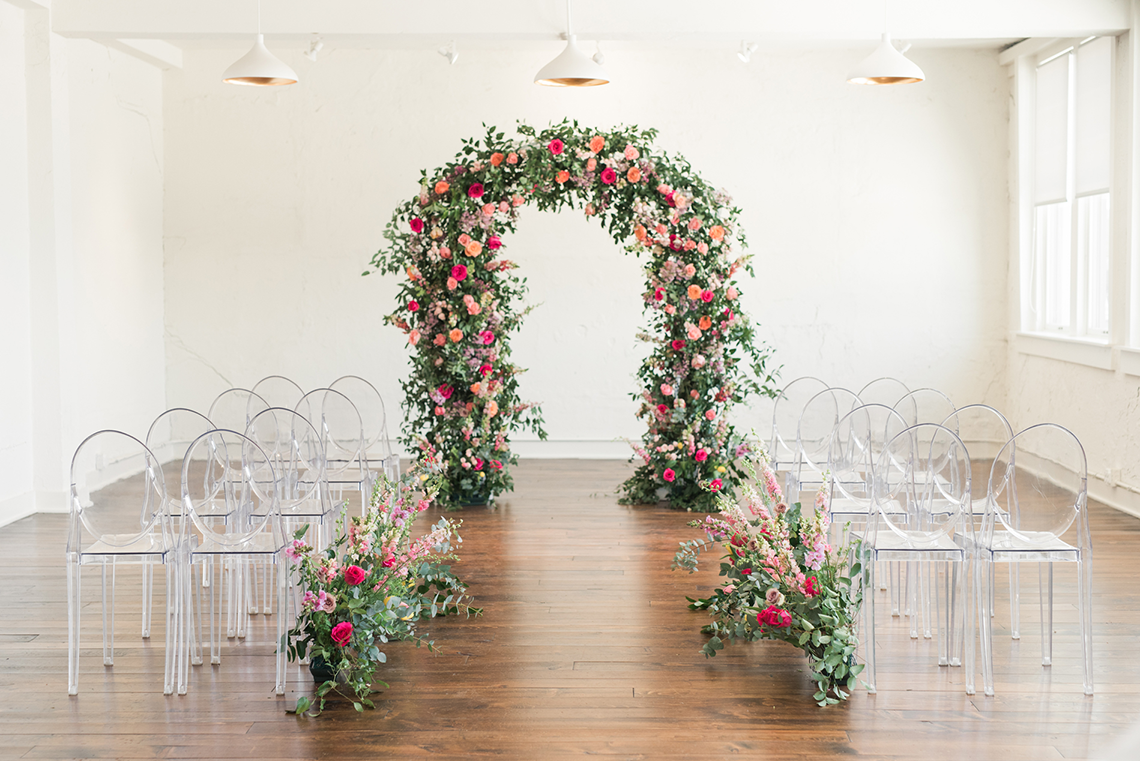 Floral-filled Indoor Garden Wedding Inspiration – Cristy Angulo Photography 2