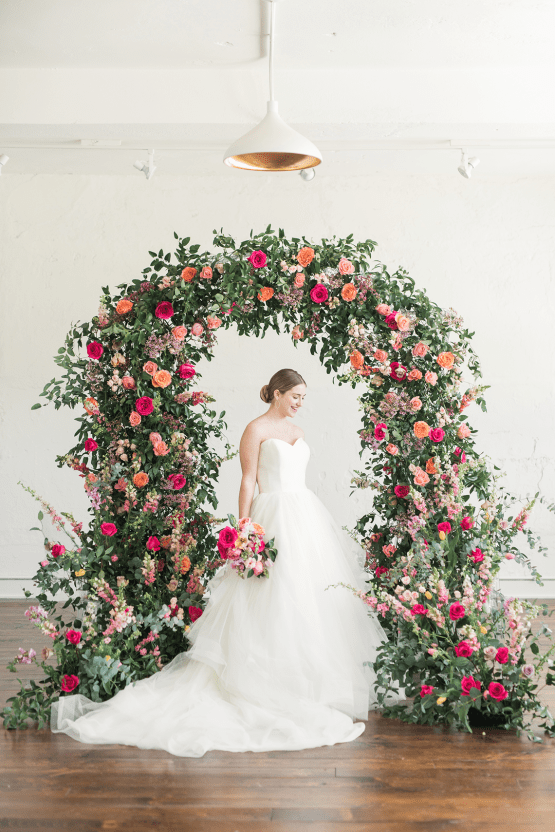 Floral-filled Indoor Garden Wedding Inspiration – Cristy Angulo Photography 23