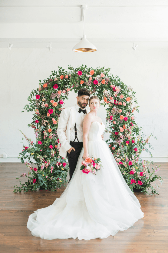 Floral-filled Indoor Garden Wedding Inspiration – Cristy Angulo Photography 25