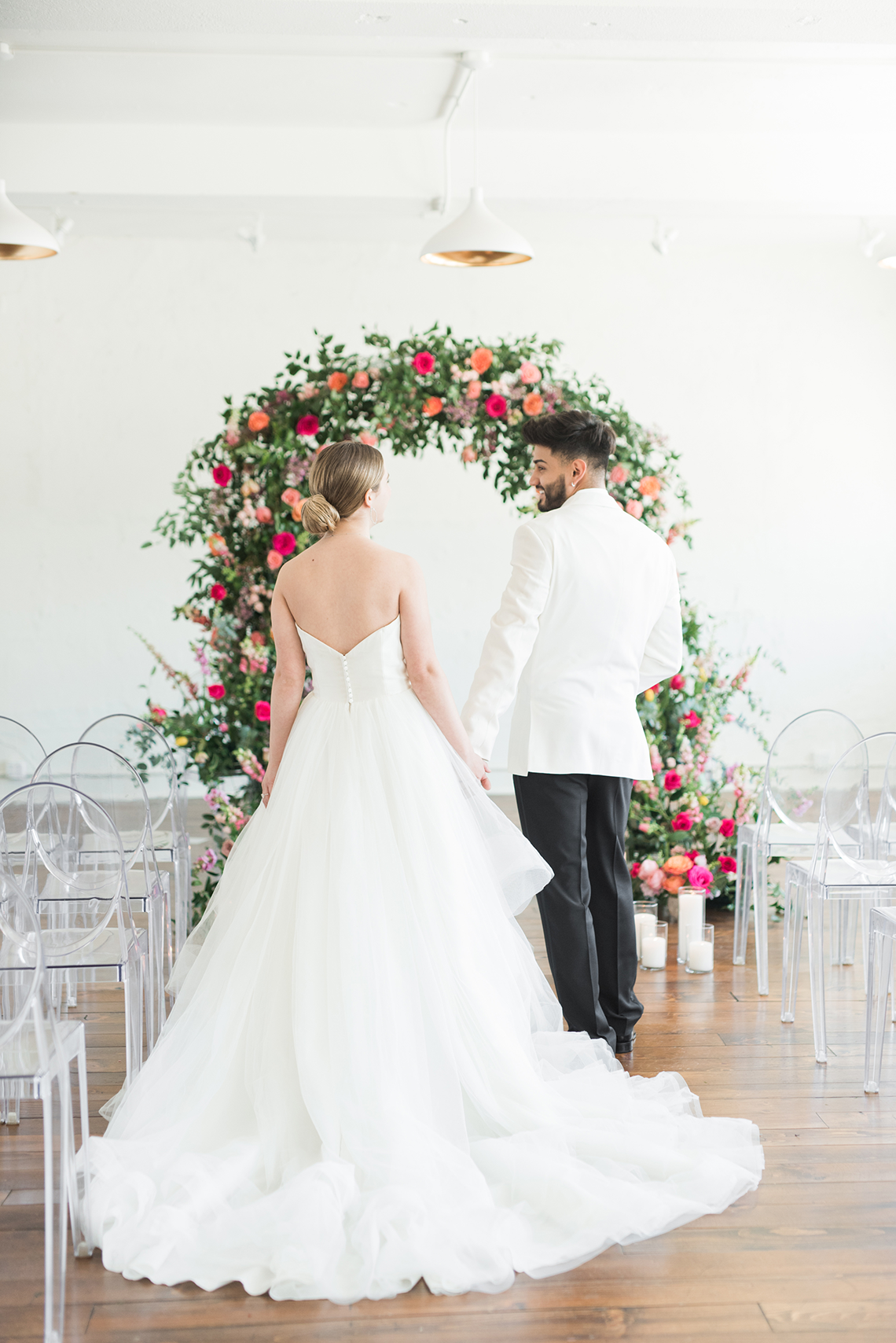 Floral-filled Indoor Garden Wedding Inspiration – Cristy Angulo Photography 27