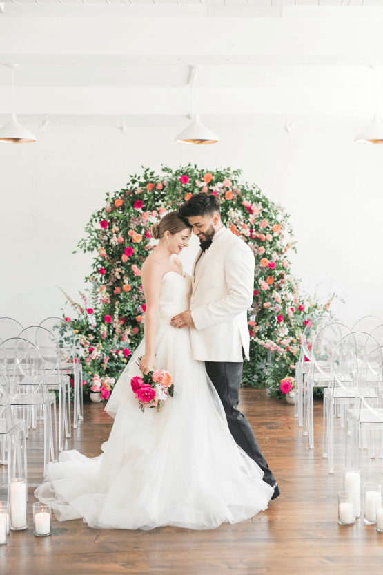 Floral-filled Indoor Garden Wedding Inspiration – Cristy Angulo Photography 29