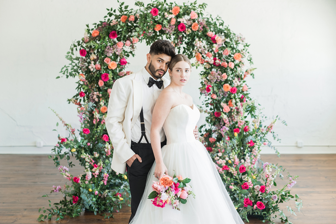 Floral-filled Indoor Garden Wedding Inspiration – Cristy Angulo Photography 3