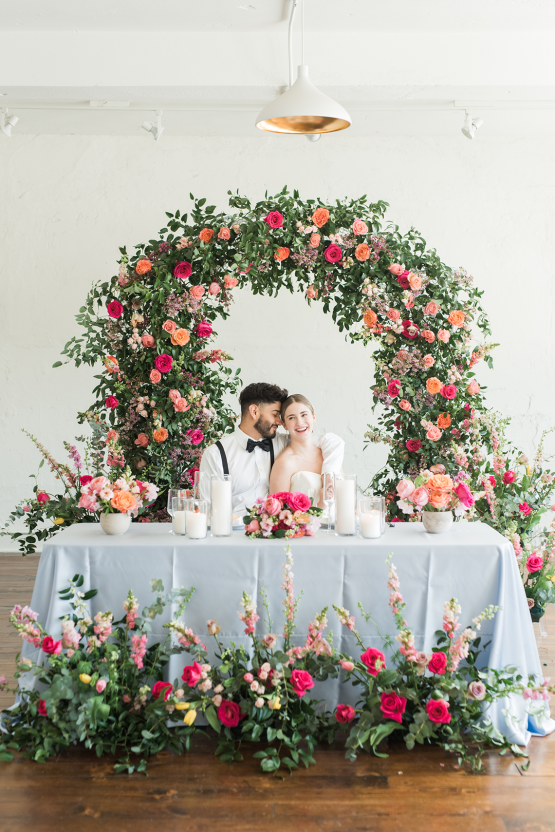 Floral-filled Indoor Garden Wedding Inspiration – Cristy Angulo Photography 35