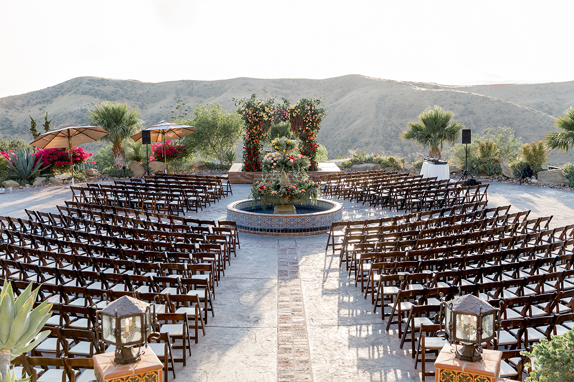 Luxurious Hummingbird Nest Ranch Jewish Wedding – Katie Beverly 5