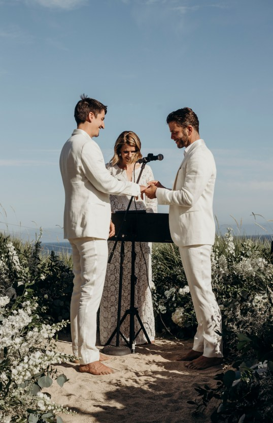 Malibu Same Sex Wedding – Robert Michael Films – Ati Boldog Photography 11