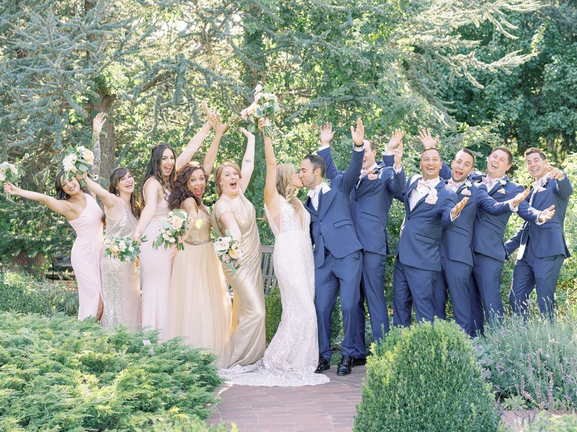 Pretty Denver Botanic Gardens Wedding – Decorus Fine Art Photography 1