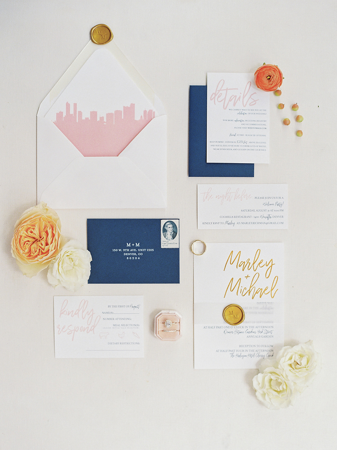 Pretty Denver Botanic Gardens Wedding – Decorus Fine Art Photography 33