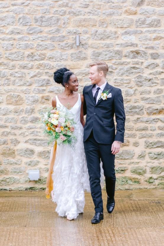 Rustic UK Barn Wedding Inspiration – Elsie Love Photography – Kimberley Rose Designs 10