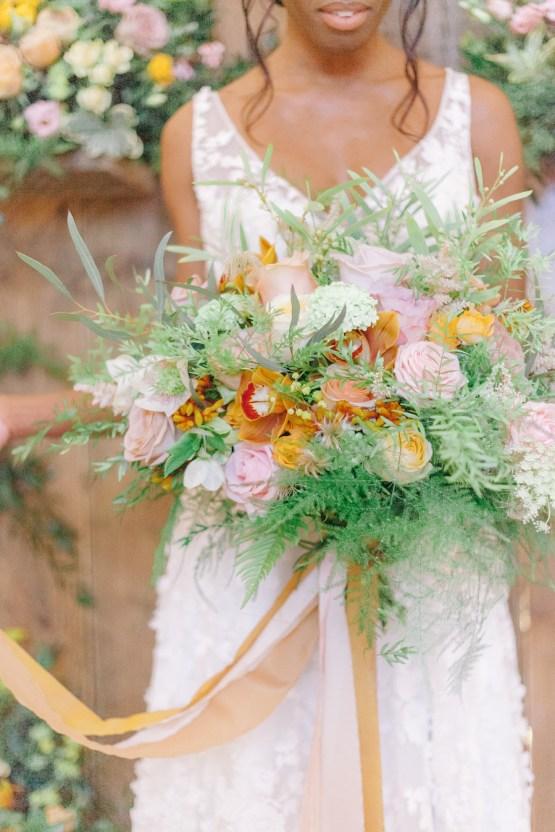 Rustic UK Barn Wedding Inspiration – Elsie Love Photography – Kimberley Rose Designs 33