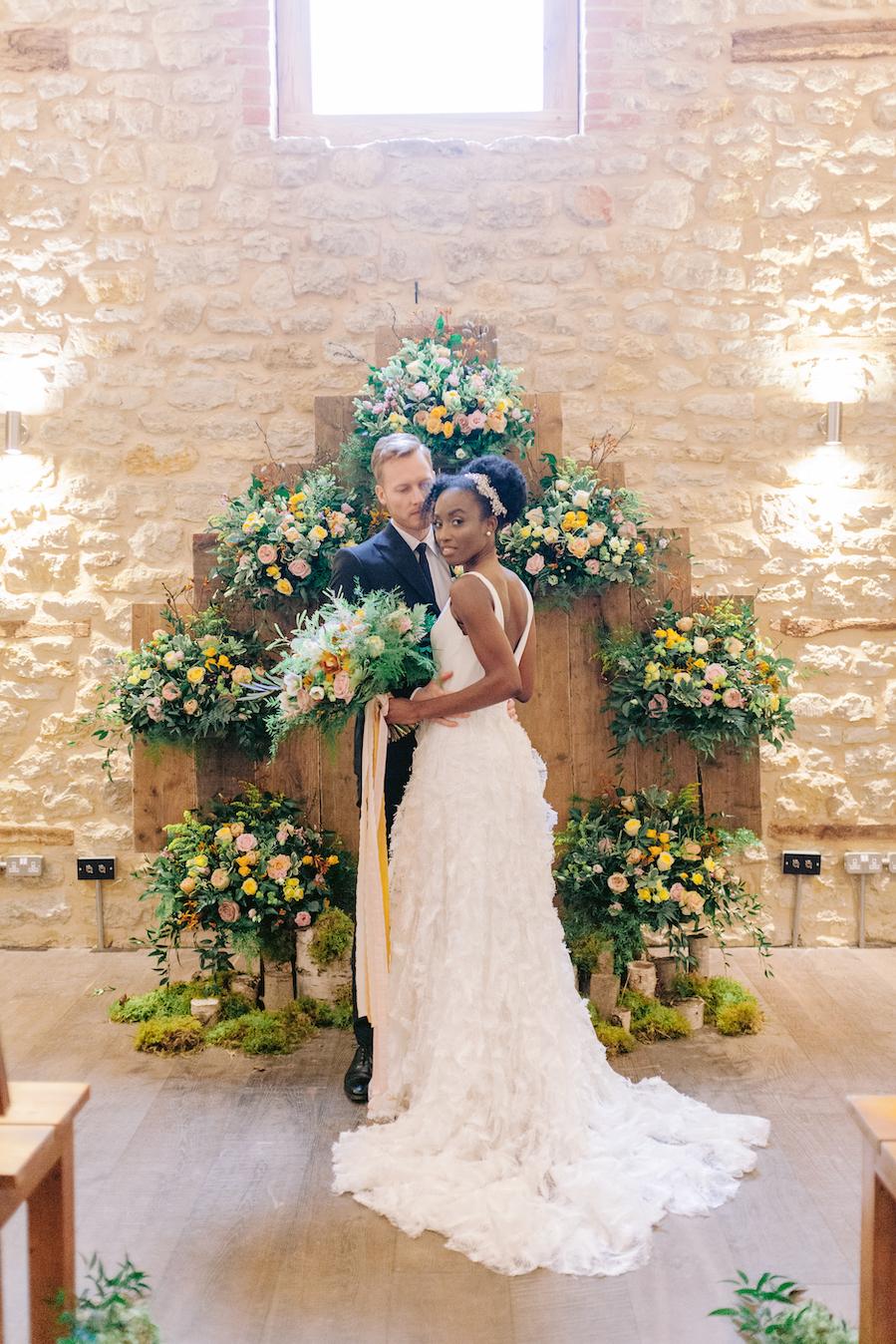 Rustic UK Barn Wedding Inspiration – Elsie Love Photography – Kimberley Rose Designs 34