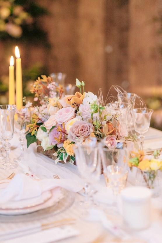 Rustic UK Barn Wedding Inspiration – Elsie Love Photography – Kimberley Rose Designs 43