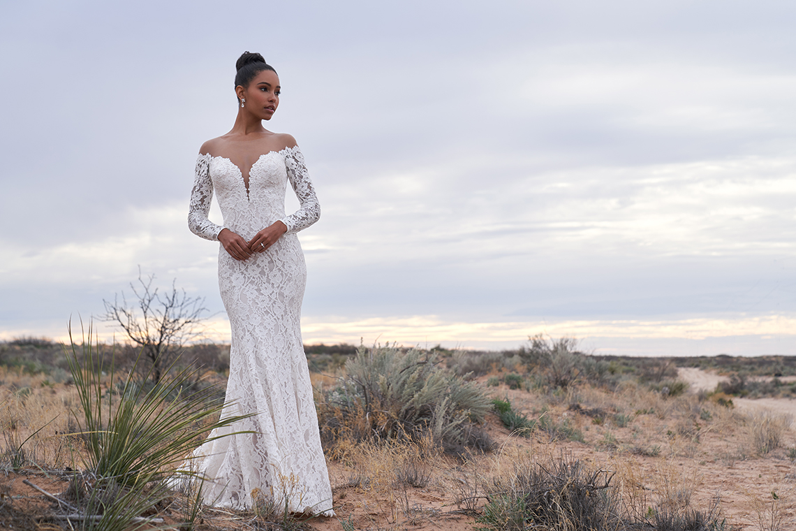 Wedding Postponement Guide – Gorgeous Allure Bridals Wedding Dresses for Your Bridal Photoshoot – 3366-AD1
