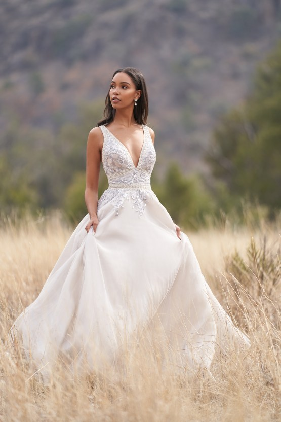 Wedding Postponement Guide – Gorgeous Allure Bridals Wedding Dresses for Your Bridal Photoshoot – 9750-AD4