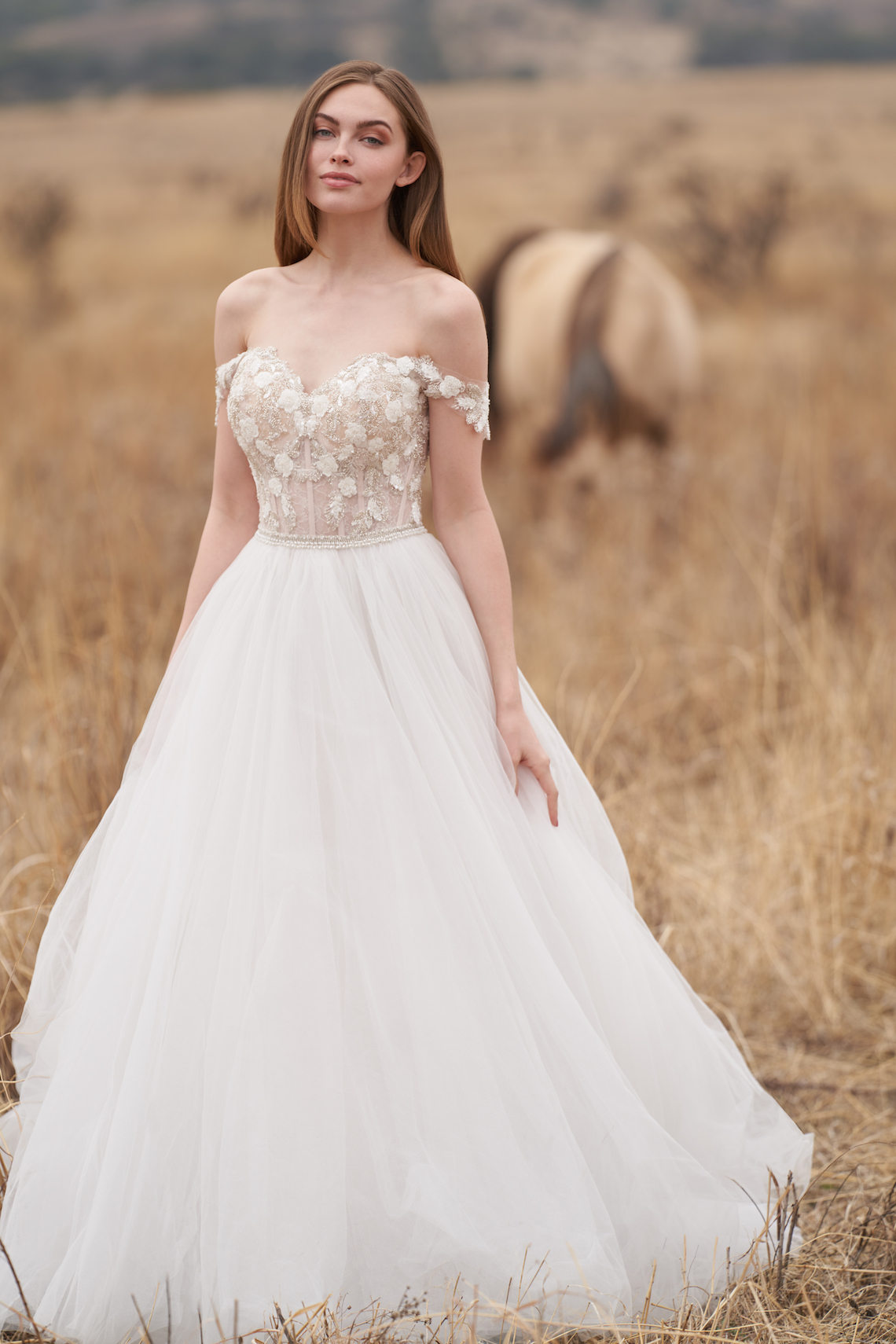 Wedding Postponement Guide – Gorgeous Allure Bridals Wedding Dresses for Your Bridal Photoshoot – 9755-AD1