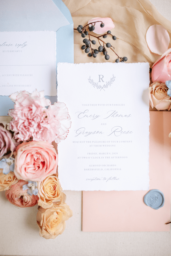 Whimsical Almond Orchard Blossom Wedding Inspiration – Playful Soul Photography 1