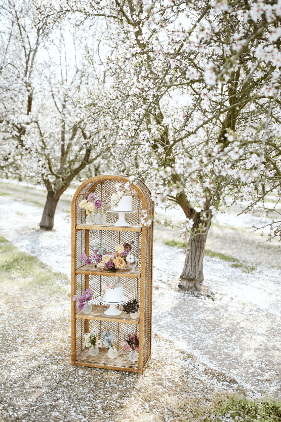 Whimsical Almond Orchard Blossom Wedding Inspiration – Playful Soul Photography 11