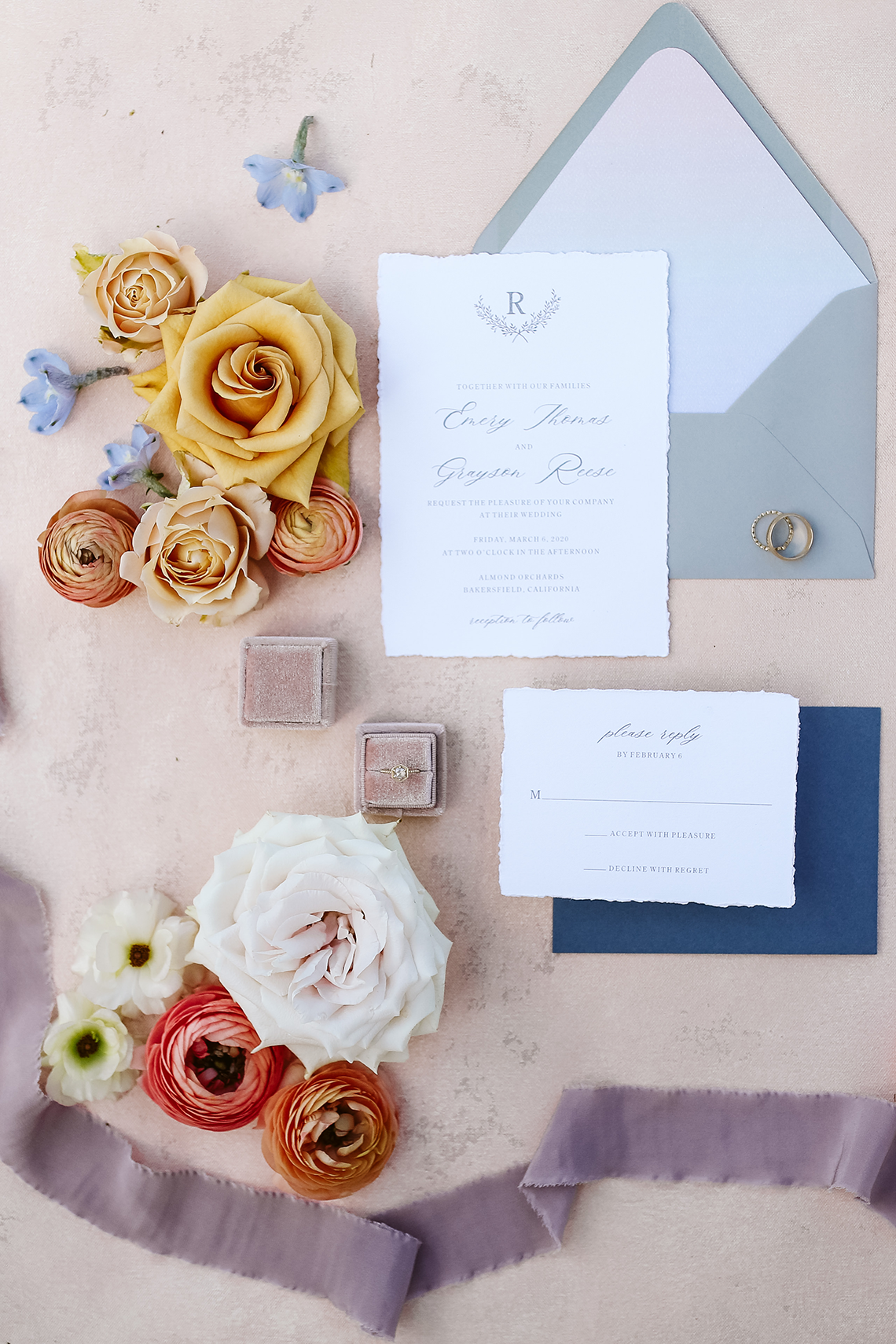 Whimsical Almond Orchard Blossom Wedding Inspiration – Playful Soul Photography 2