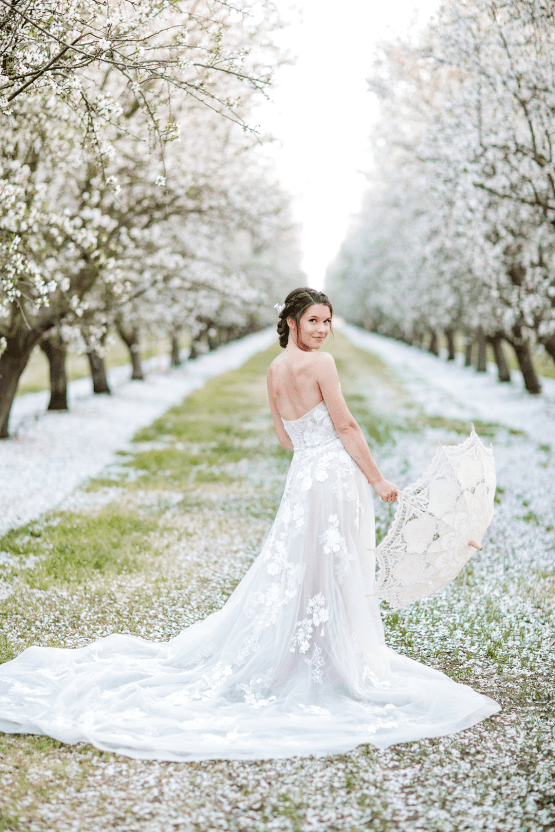 Whimsical Almond Orchard Blossom Wedding Inspiration – Playful Soul Photography 20