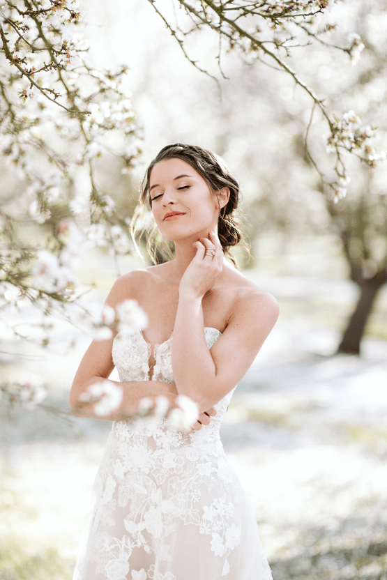 Whimsical Almond Orchard Blossom Wedding Inspiration – Playful Soul Photography 25